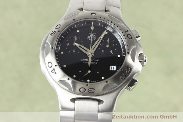 Used luxury watch Tag Heuer Professional steel quartz Ref. CL1110  | 140755 04