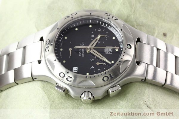 Used luxury watch Tag Heuer Professional steel quartz Ref. CL1110  | 140755 05