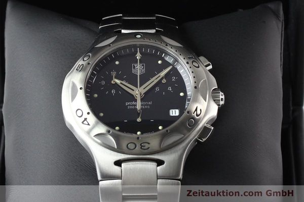 Used luxury watch Tag Heuer Professional steel quartz Ref. CL1110  | 140755 07