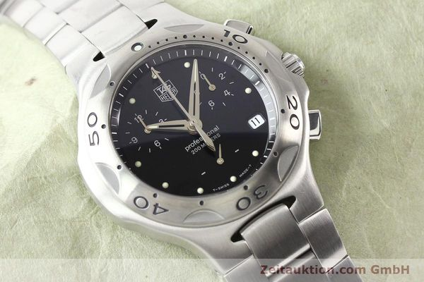Used luxury watch Tag Heuer Professional steel quartz Ref. CL1110  | 140755 13