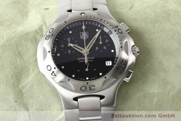 Used luxury watch Tag Heuer Professional steel quartz Ref. CL1110  | 140755 14