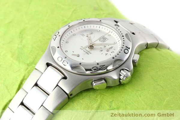 Used luxury watch Tag Heuer Professional steel quartz Ref. CL1210  | 140756 01