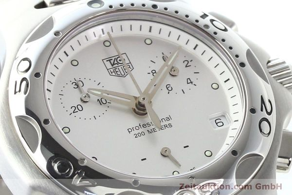 Used luxury watch Tag Heuer Professional steel quartz Ref. CL1210  | 140756 02