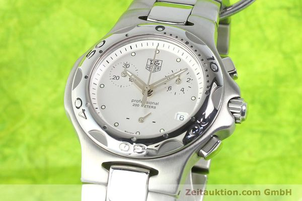 Used luxury watch Tag Heuer Professional steel quartz Ref. CL1210  | 140756 04
