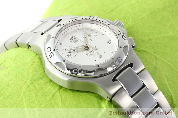 Used luxury watch Tag Heuer Professional steel quartz Ref. CL1210  | 140756 12