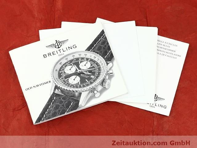 Used luxury watch Breitling Navitimer steel automatic Kal. ETA 7750 Ref. A13019  | 140759 08