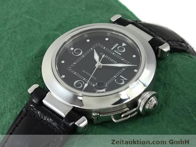 Used luxury watch Cartier Pasha steel automatic Kal. 049 (ETA 2892A2)  | 140760 01