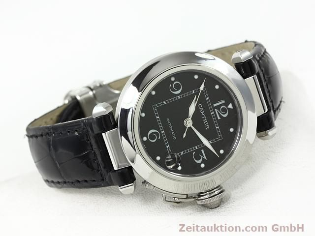 Used luxury watch Cartier Pasha steel automatic Kal. 049 (ETA 2892A2)  | 140760 03