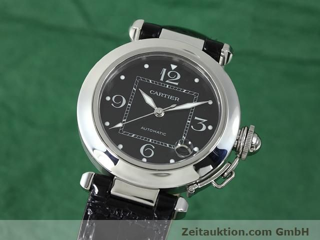 Used luxury watch Cartier Pasha steel automatic Kal. 049 (ETA 2892A2)  | 140760 04