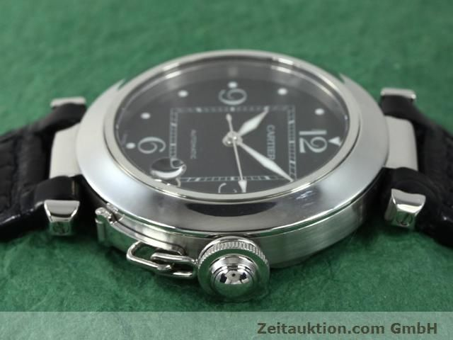 Used luxury watch Cartier Pasha steel automatic Kal. 049 (ETA 2892A2)  | 140760 05