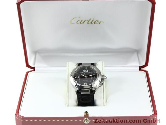 Used luxury watch Cartier Pasha steel automatic Kal. 049 (ETA 2892A2)  | 140760 07