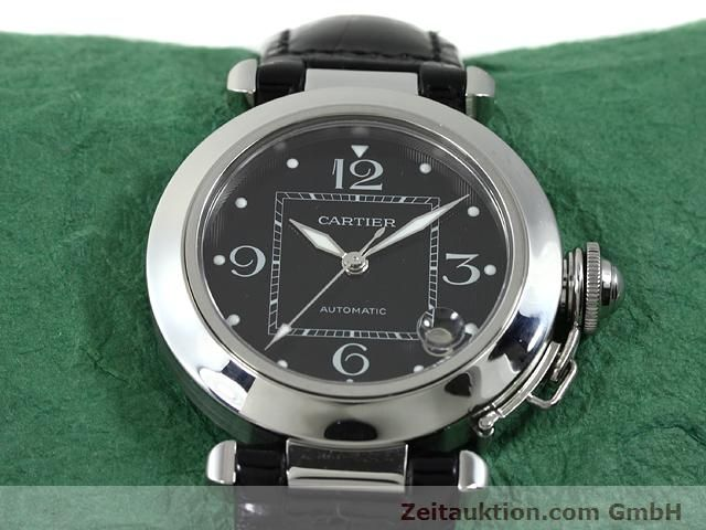 Used luxury watch Cartier Pasha steel automatic Kal. 049 (ETA 2892A2)  | 140760 15