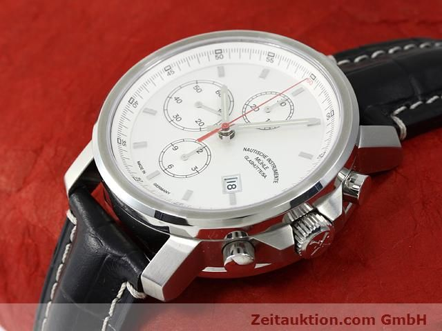 Used luxury watch Mühle * steel automatic Kal. ETA 7750 Ref. M1-25-40  | 140762 01