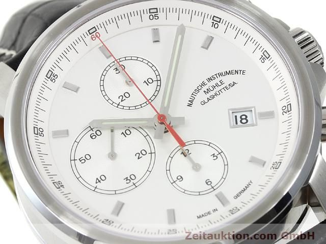 Used luxury watch Mühle * steel automatic Kal. ETA 7750 Ref. M1-25-40  | 140762 02