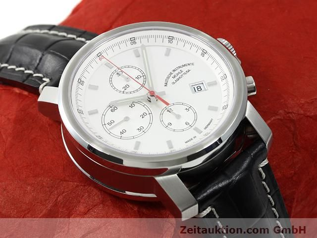 Used luxury watch Mühle * steel automatic Kal. ETA 7750 Ref. M1-25-40  | 140762 14