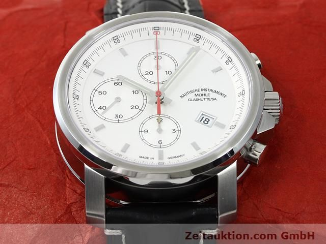 Used luxury watch Mühle * steel automatic Kal. ETA 7750 Ref. M1-25-40  | 140762 15