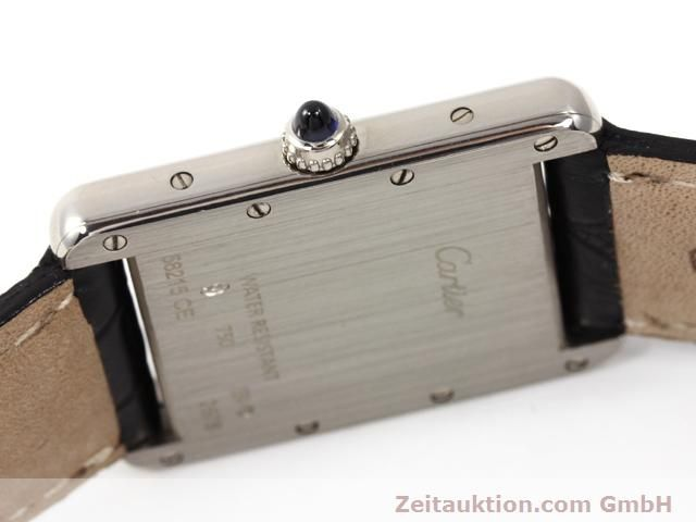 Used luxury watch Cartier Tank 18 ct white gold quartz Kal. 688  | 140764 08