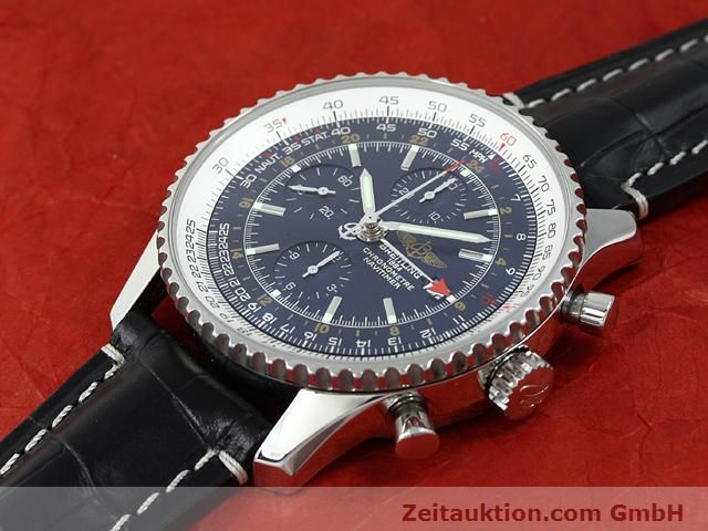 Used luxury watch Breitling Navitimer steel automatic Kal. B24 ETA 7754 Ref. A24322  | 140765 01