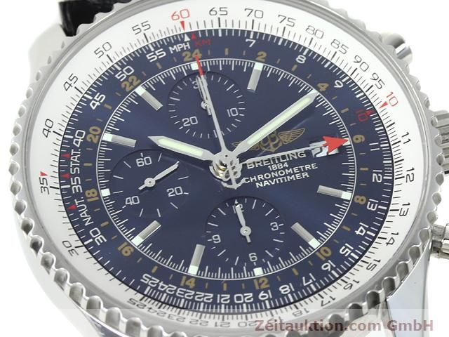 Used luxury watch Breitling Navitimer steel automatic Kal. B24 ETA 7754 Ref. A24322  | 140765 02