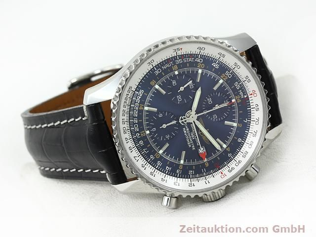 Used luxury watch Breitling Navitimer steel automatic Kal. B24 ETA 7754 Ref. A24322  | 140765 03