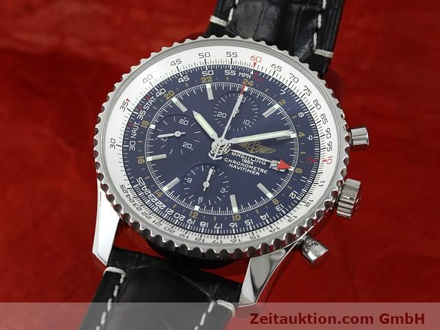 Used luxury watch Breitling Navitimer steel automatic Kal. B24 ETA 7754 Ref. A24322  | 140765 04