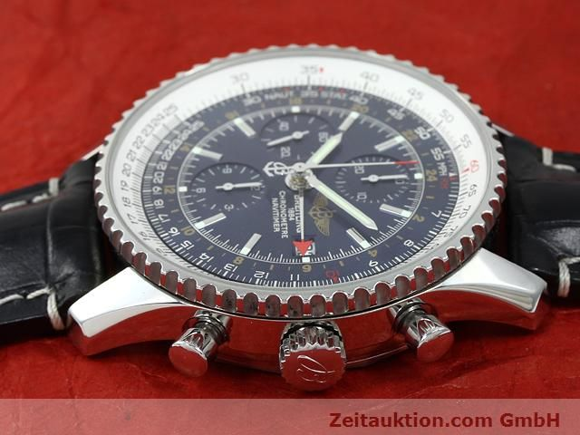 Used luxury watch Breitling Navitimer steel automatic Kal. B24 ETA 7754 Ref. A24322  | 140765 05