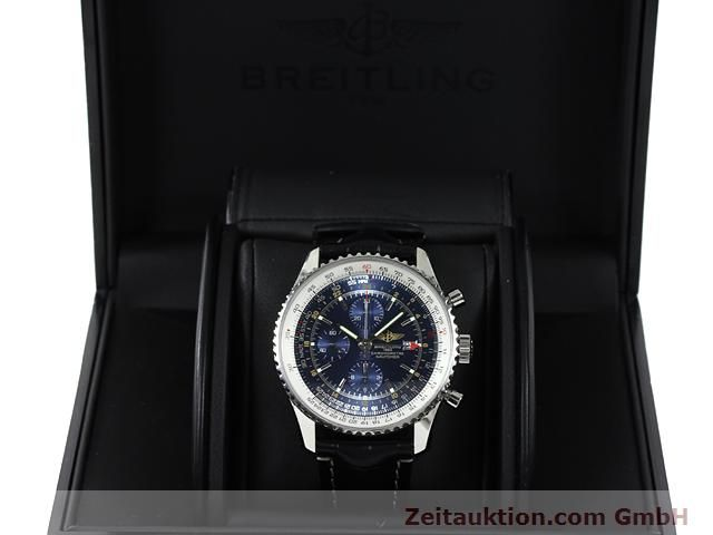 Used luxury watch Breitling Navitimer steel automatic Kal. B24 ETA 7754 Ref. A24322  | 140765 07