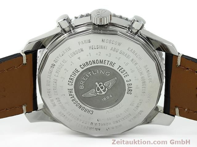 Used luxury watch Breitling Navitimer steel automatic Kal. B24 ETA 7754 Ref. A24322  | 140765 09
