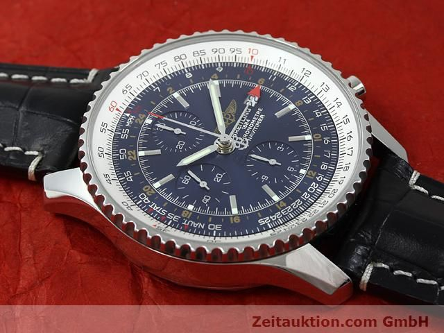 Used luxury watch Breitling Navitimer steel automatic Kal. B24 ETA 7754 Ref. A24322  | 140765 14