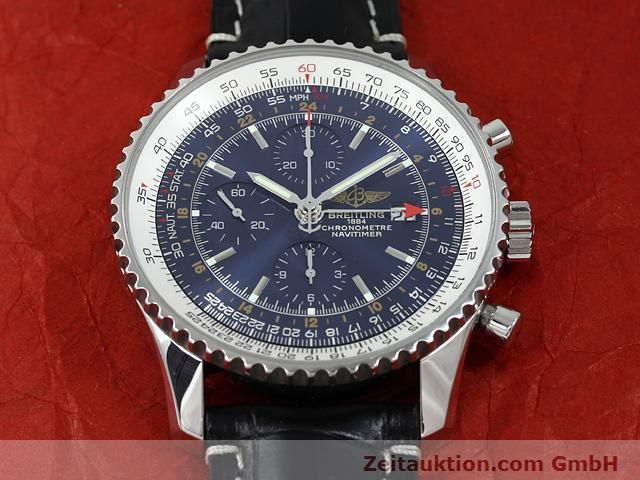 Used luxury watch Breitling Navitimer steel automatic Kal. B24 ETA 7754 Ref. A24322  | 140765 15