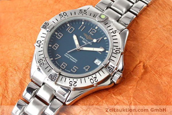 Used luxury watch Breitling Colt steel automatic Kal. ETA 2824-2 Ref. A17035  | 140766 01
