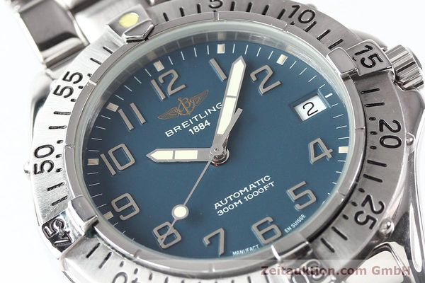 Used luxury watch Breitling Colt steel automatic Kal. ETA 2824-2 Ref. A17035  | 140766 02