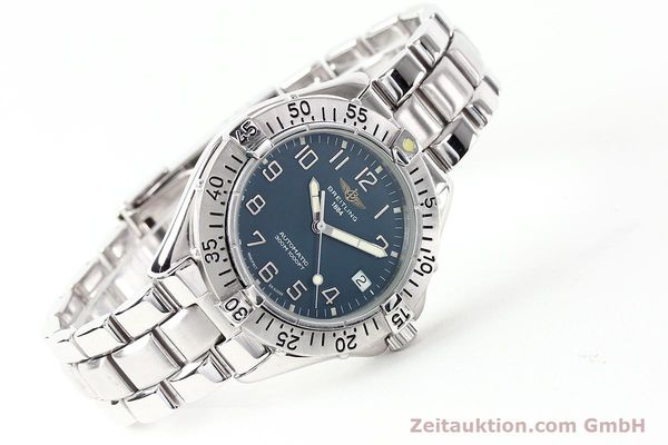 Used luxury watch Breitling Colt steel automatic Kal. ETA 2824-2 Ref. A17035  | 140766 03