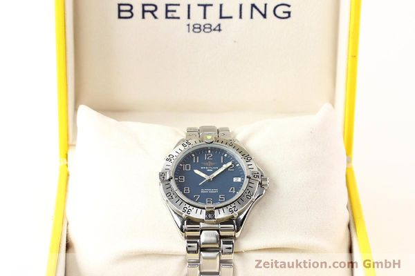 Used luxury watch Breitling Colt steel automatic Kal. ETA 2824-2 Ref. A17035  | 140766 07