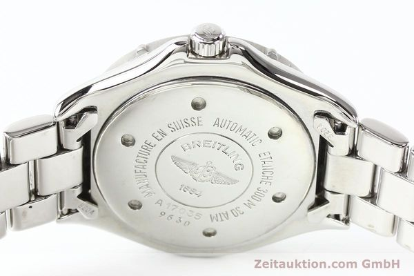 Used luxury watch Breitling Colt steel automatic Kal. ETA 2824-2 Ref. A17035  | 140766 11
