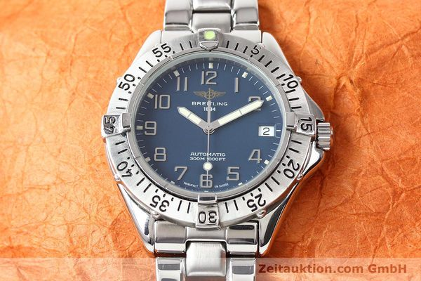 Used luxury watch Breitling Colt steel automatic Kal. ETA 2824-2 Ref. A17035  | 140766 15