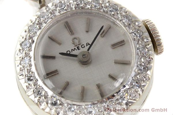 Used luxury watch Omega * 14 ct white gold manual winding Kal. 484 Ref. 15547  | 140770 02