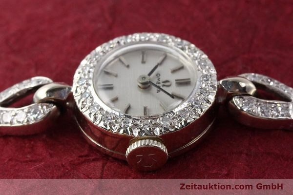 Used luxury watch Omega * 14 ct white gold manual winding Kal. 484 Ref. 15547  | 140770 05