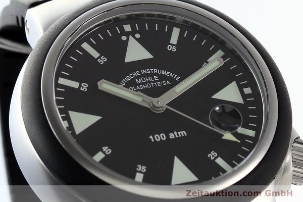 Used luxury watch Mühle Rescue Timer steel automatic Kal. Selita 200-1 Ref. M1-41-03  | 140771 02