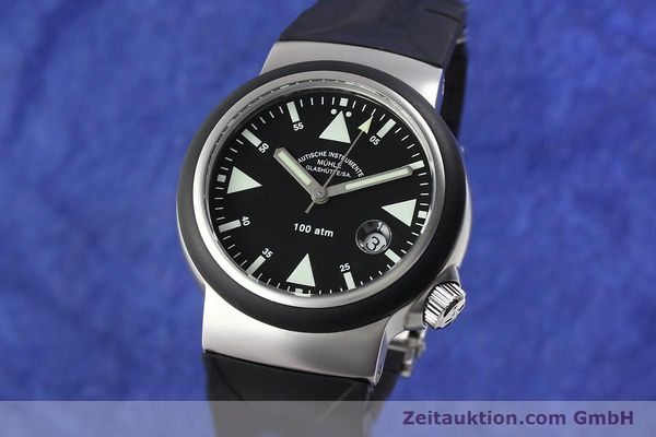 Used luxury watch Mühle Rescue Timer steel automatic Kal. Selita 200-1 Ref. M1-41-03  | 140771 04