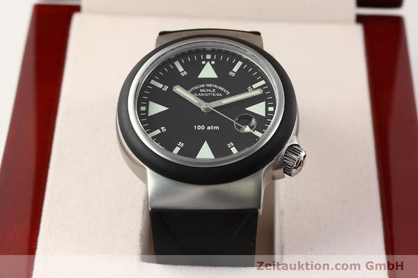 Used luxury watch Mühle Rescue Timer steel automatic Kal. Selita 200-1 Ref. M1-41-03  | 140771 07