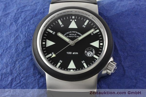 Used luxury watch Mühle Rescue Timer steel automatic Kal. Selita 200-1 Ref. M1-41-03  | 140771 16