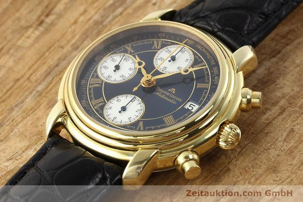 Used luxury watch Maurice Lacroix Croneo gold-plated automatic Ref. 13934  | 140772 01