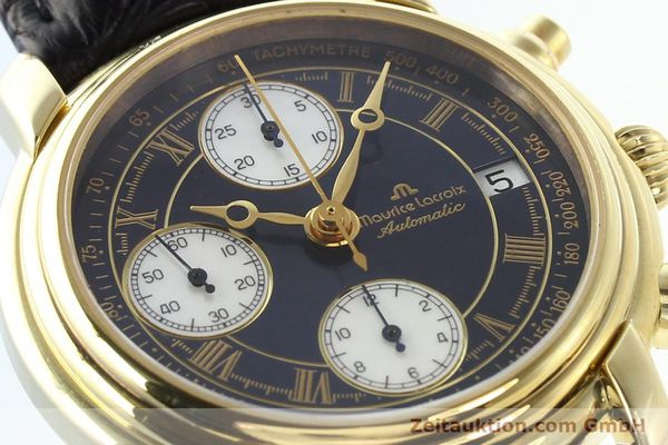 Used luxury watch Maurice Lacroix Croneo gold-plated automatic Ref. 13934  | 140772 02