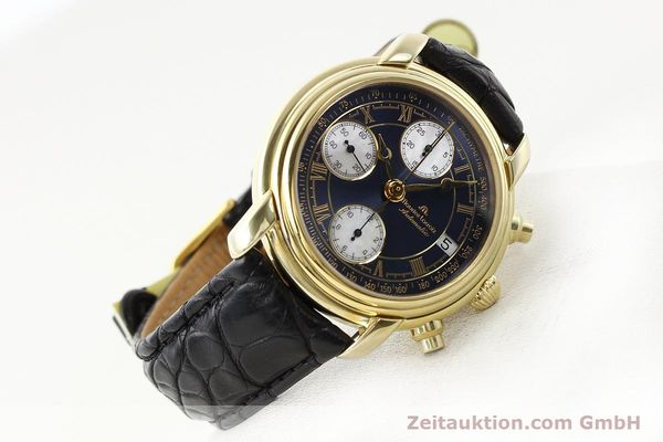Used luxury watch Maurice Lacroix Croneo gold-plated automatic Ref. 13934  | 140772 03
