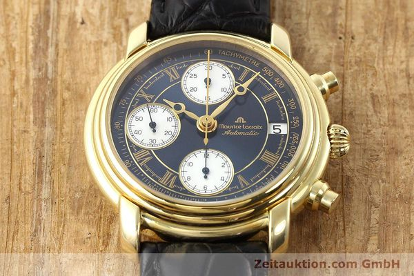 Used luxury watch Maurice Lacroix Croneo gold-plated automatic Ref. 13934  | 140772 15