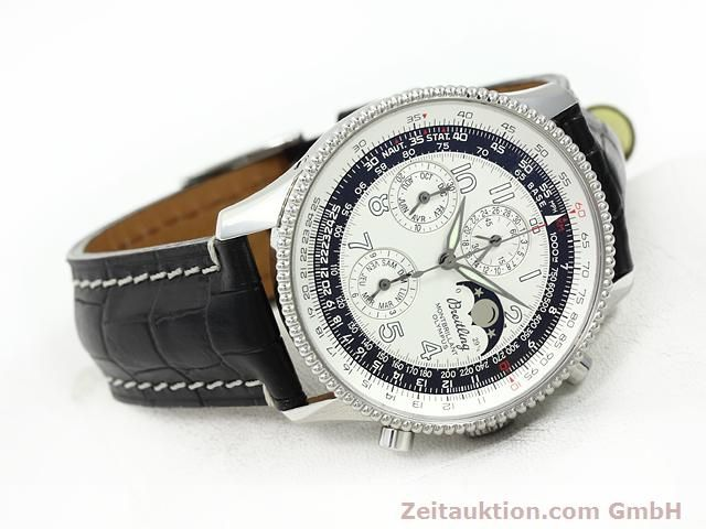 Used luxury watch Breitling Montbrillant chronograph steel automatic Kal. ETA 2892A2 Ref. A19350  | 140774 03