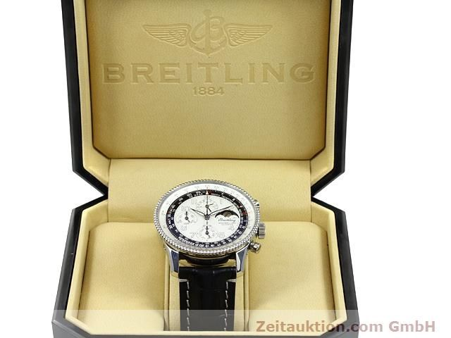 Used luxury watch Breitling Montbrillant chronograph steel automatic Kal. ETA 2892A2 Ref. A19350  | 140774 07