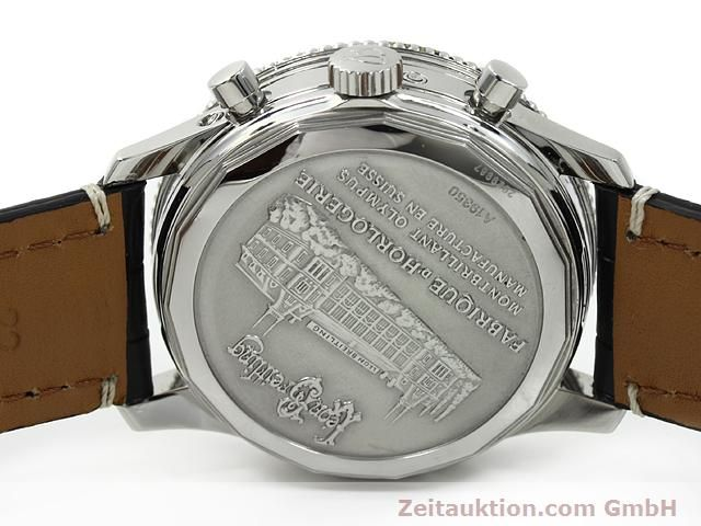 Used luxury watch Breitling Montbrillant chronograph steel automatic Kal. ETA 2892A2 Ref. A19350  | 140774 09