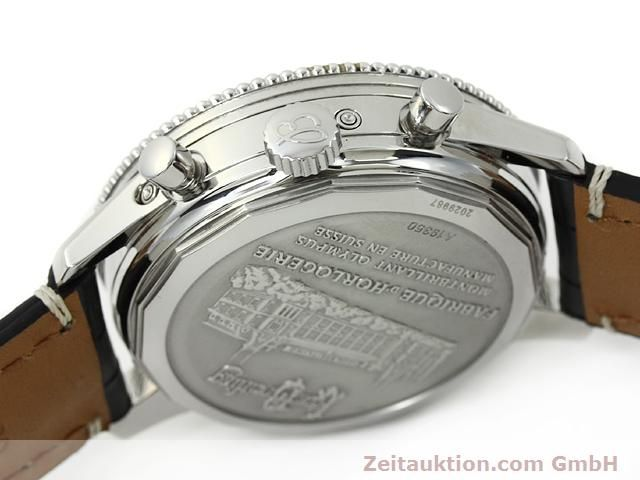 Used luxury watch Breitling Montbrillant chronograph steel automatic Kal. ETA 2892A2 Ref. A19350  | 140774 11
